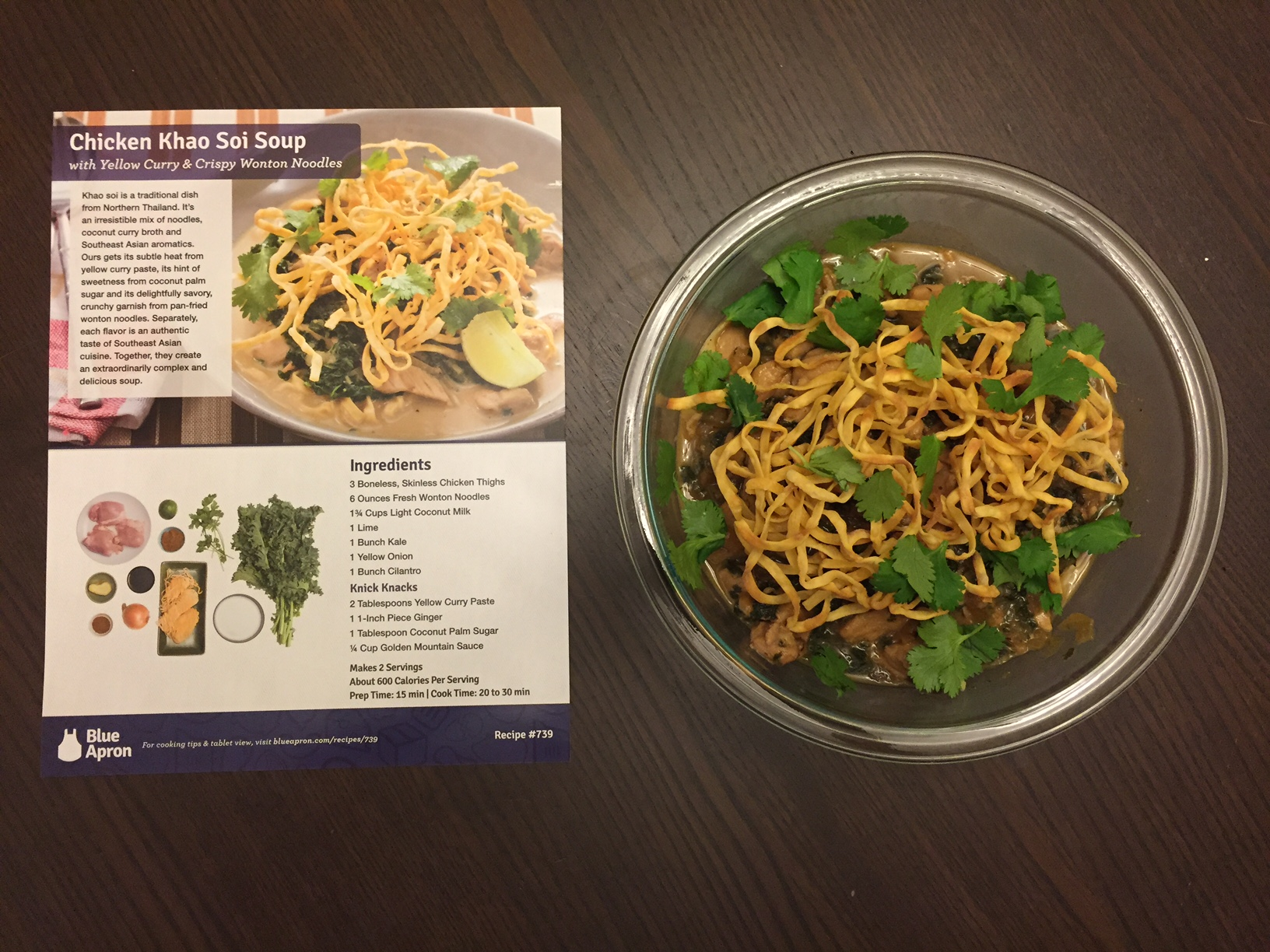 Blue apron wonton noodles - Feast Your Eyes